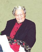 "Ms. Florence Ellen ""Fannie"" Jacobs"